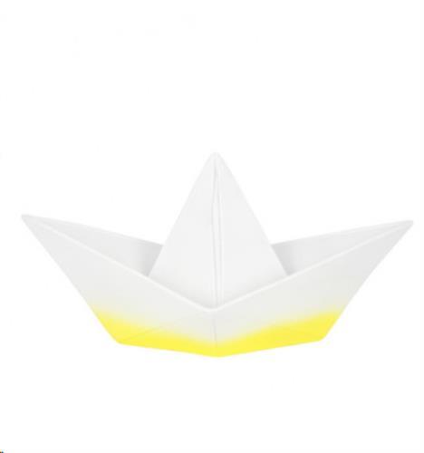The Paper Boat Lamp - Yellow Dip