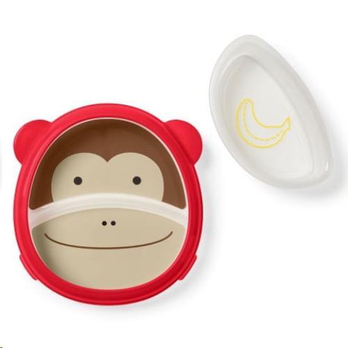 Zoo Slim Serveren Bord & Kom set - Monkey
