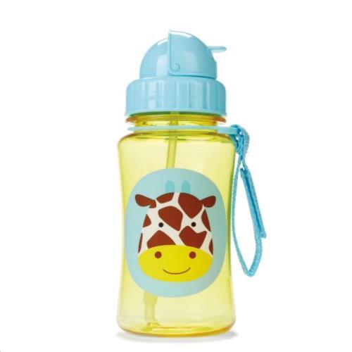 Zoo Drinkfles rietje - Giraffe