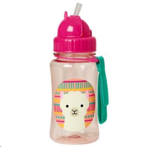 Zoo Drinkfles rietje - Llama