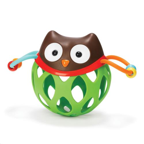 Explore & More rammelaar Roll-Around Rattle uil