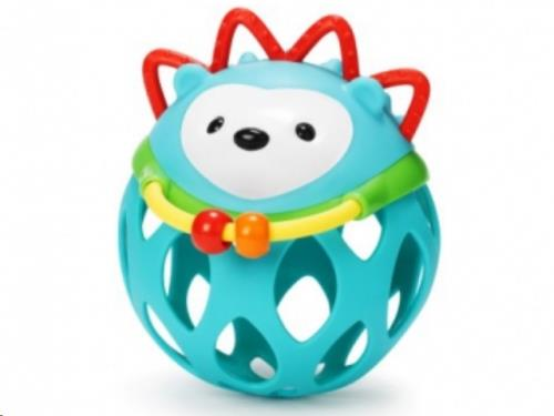 Explore & More rammelaar Roll-around Rattle Hedgehog