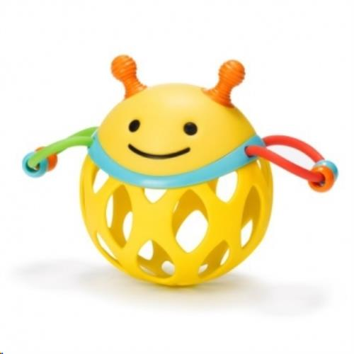Explore & More rammelaar Roll-Around Rattle Bee