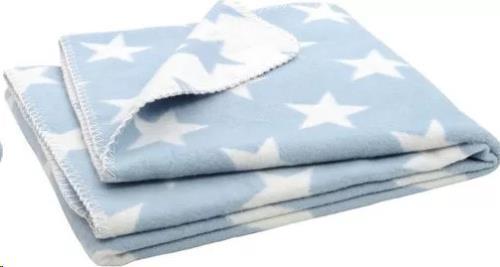 * Deken 75x100cm Little star blue