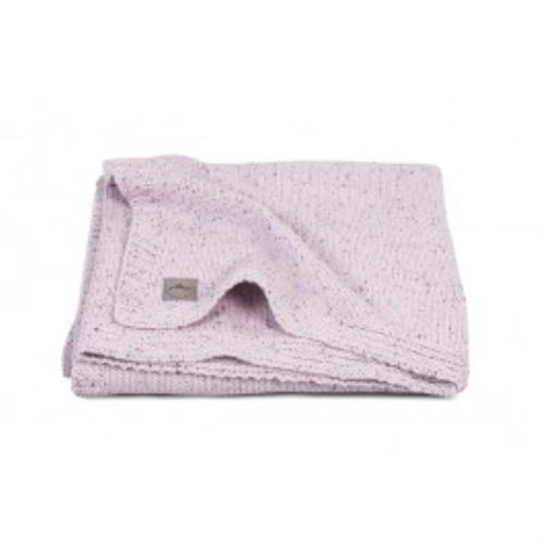 Deken 75x100cm Confetti knit vintage pink