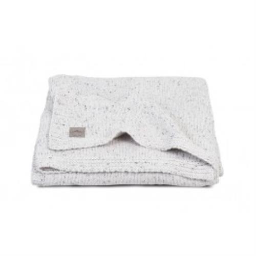 Deken 75x100cm Confetti knit natural