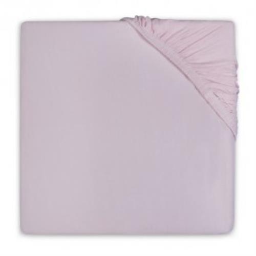 Hoeslaken katoen 75x150cm vintage pink