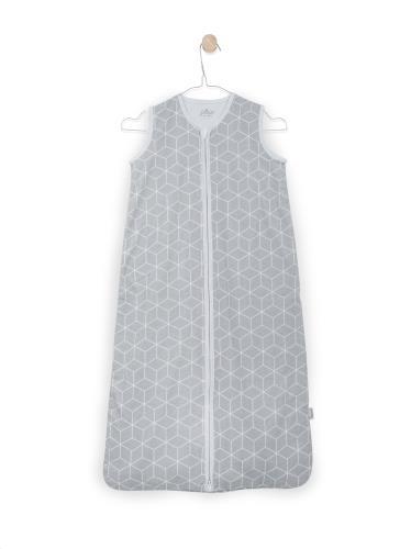 Slaapzak zomer 110cm jersey Graphic grey