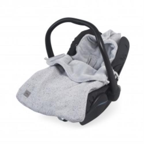 Comfortbag groep 0+ 3/5 punts Confetti knit grey