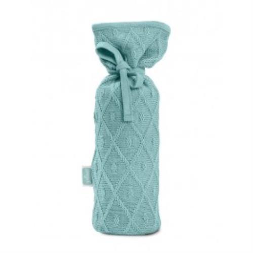 Kruikenzak Diamond knit vintage green