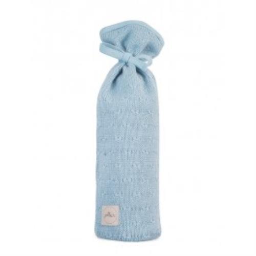 Kruikenzak Soft knit soft blue