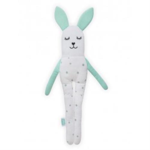 Knuffel softy Bunny vintage green