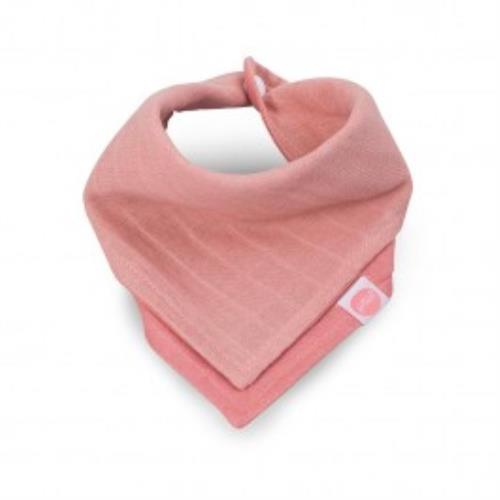Slab bandana hydrofiel Duo coral pink