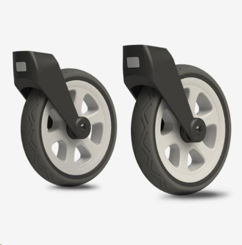 All terrain swivel wheels silver Day3/+