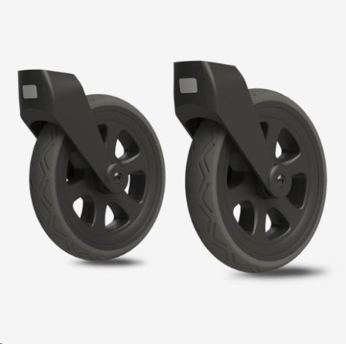 All terrain swivel wheels black Day3/+