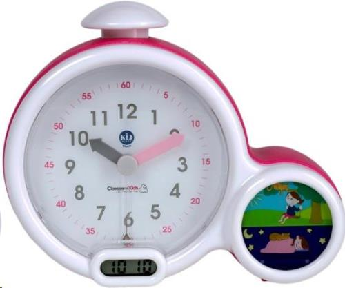 Kid' Sleep klok Pink