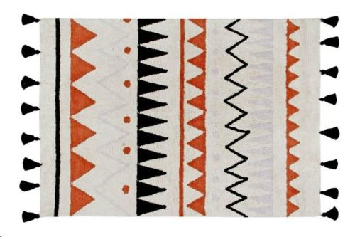 Azteca Natural-Terracota 140 x 200