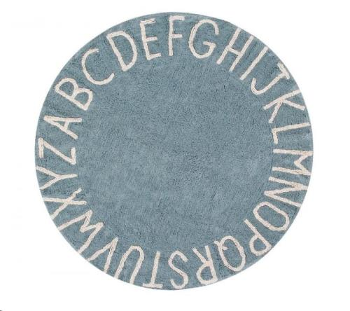 Round ABC Vintage Blue-Natural / Azul Vintage-Natural 150 diameter