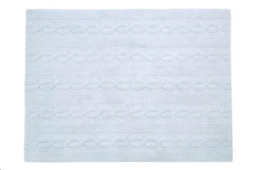 Trenzas Azul Claro / Braids Soft Blue  80 x 120