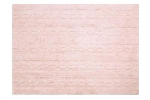 Trenzas Rosa Claro / Braids Soft Pink  80 x 120