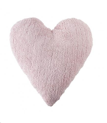 Cushion Heart Pink / Cojín Corazón Rosa 50 x 47