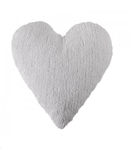 Cushion Heart White / Cojín Corazón Blanco 50 x 47