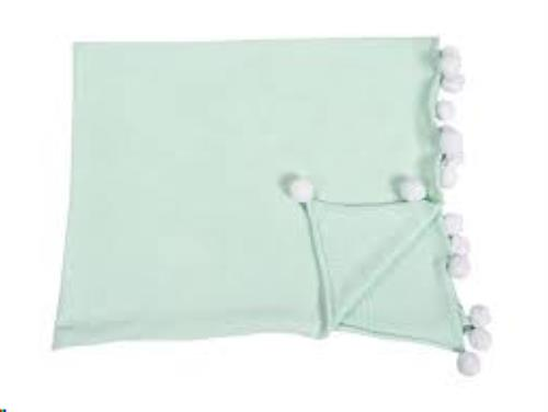 Baby Blanket Bubbly Mint / Menta 100 x 120