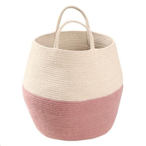 Basket Zoco Ash Rose-Natural 35 x diameter 30