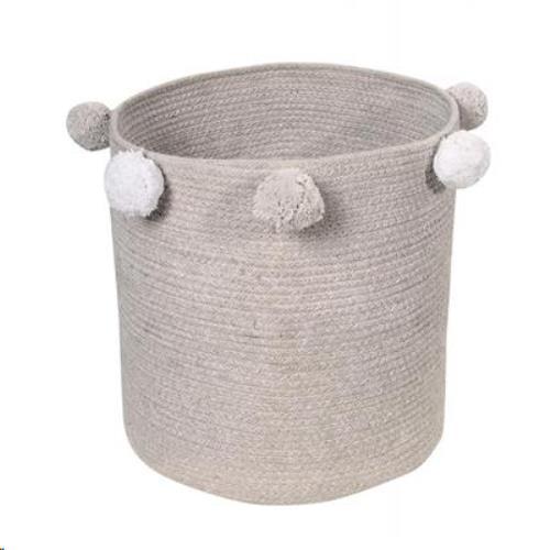 Baby Basket Bubbly Grey / Cesta Bebé Bubbly Gris 30 x Ø 30