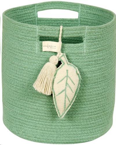 Basket Leaf Green / Cesta Leaf Verde 30 x Ø 30