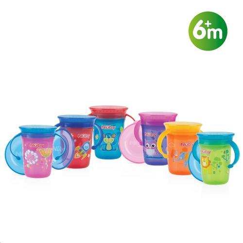 360° Wonder cup met handvatten - 240ml - 6m+