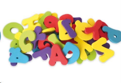 Badspeeltjes Letters en Cijfers - 12m+