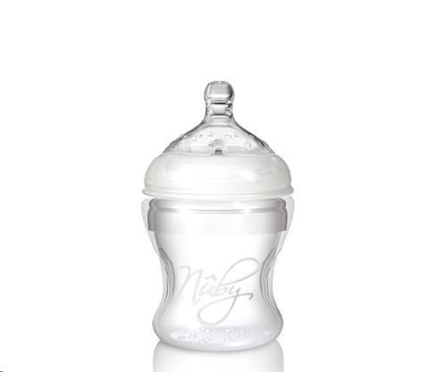 Drinkflesje uit zachte silicone - 150 ml - 0m