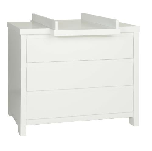 VERLENGSTUK COMMODE MONACO WIT