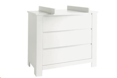 COMMODE LAURA  WIT+VERLENGSTUK