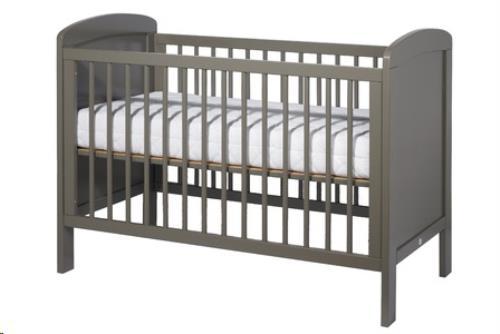 OMVORMBAAR BED SOPHIE 140 X 70 GESLOTEN TAUPE