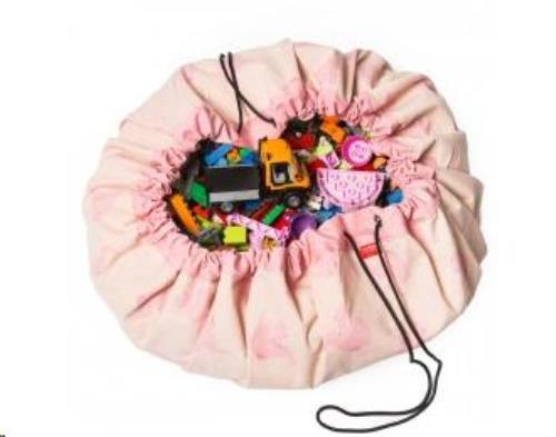 Designer collab speelmat / opbergzak 140cmPink Elephant by ALLC