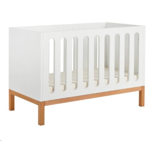 INDIGO BED/BANK 60x120 cm - WHITE
