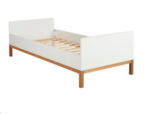 INDIGO JUNIOR BED 90x200 cm - WHITE