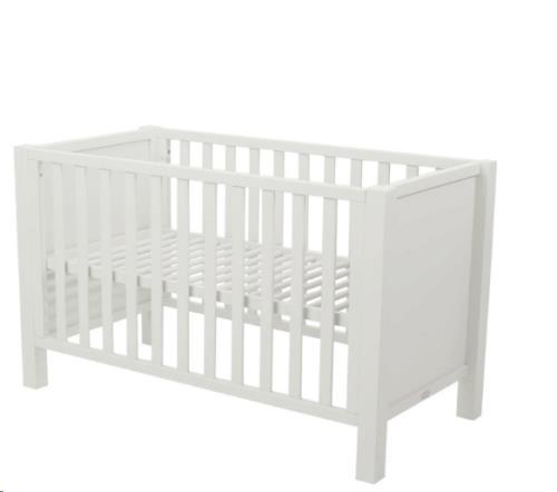 JOY BED 120 * 60 CM - WHITE