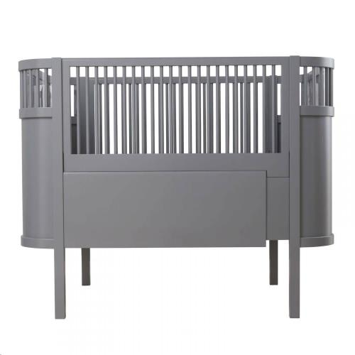 The Sebra bed, baby & jr., dark grey