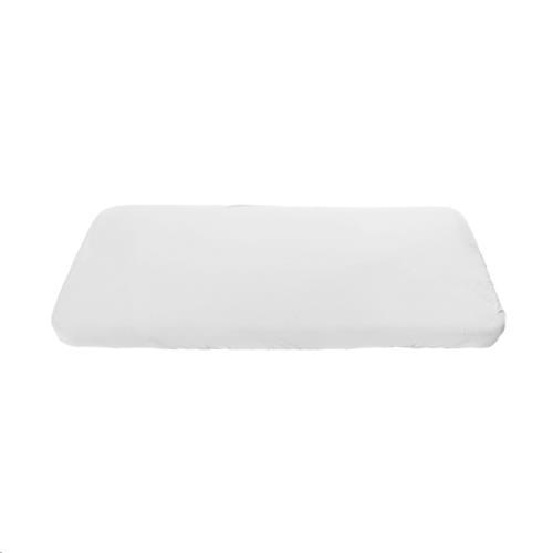 Jersey sheet, baby, white 70x120