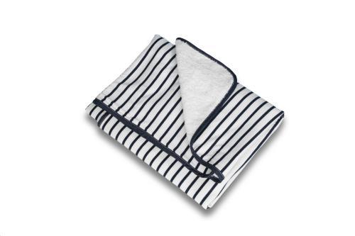 DEKEN 100x150cm Denim stripes