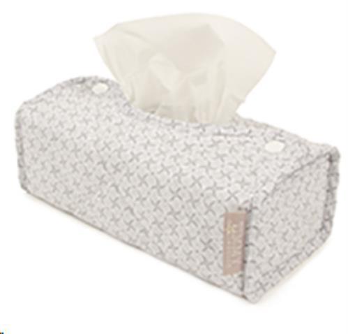 Kleenexhouder incl.kleenexdoos soft grey