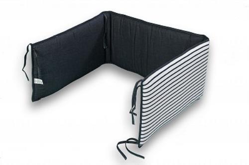 STOOTKUSSEN bed 60x120-70x140 Denim stripes
