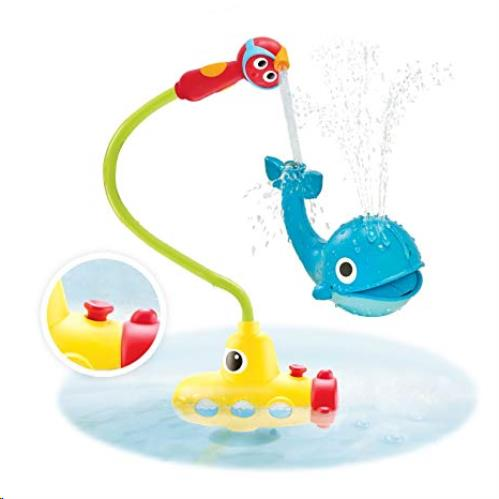Yookidoo - Badspeelgoed - Submarine Spray Whale - One size