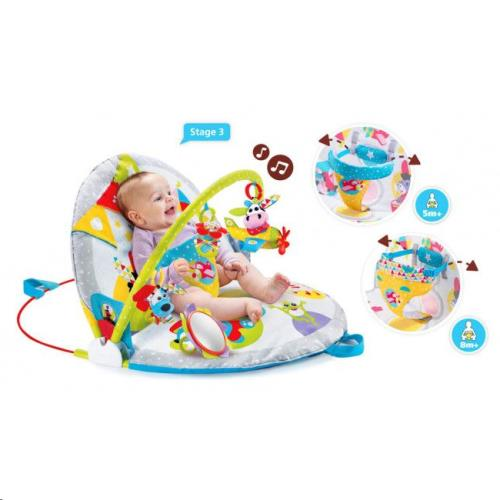 Yookidoo - Speeltapijt - Gymotion Lay to Sit Up Play - One size