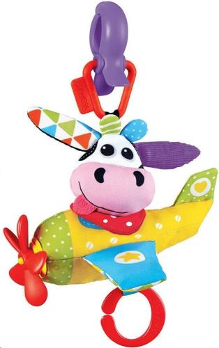 Yookidoo - Speelgoed - Tap 'N' Play Musical Plane -Cow - One size
