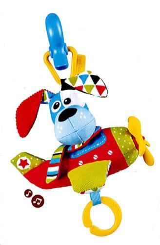 Yookidoo - Speelgoed - Tap 'N' Play Musical Plane -Dog - One size