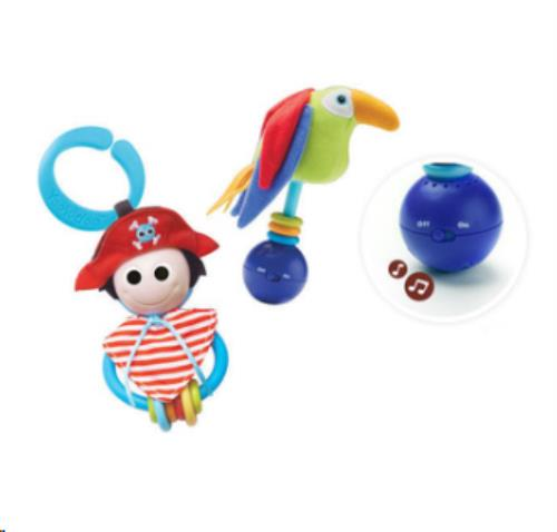Yookidoo - Rammelaars - Rattle Play Set - Pirate - One size